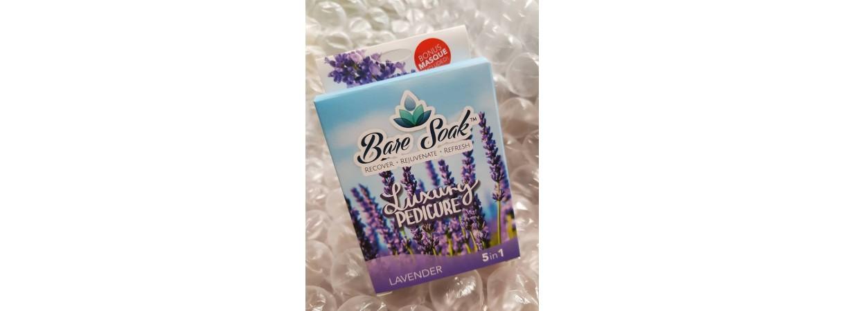 Bare Soak NU Revolution Be Calm Lavender 6 steps (1box)