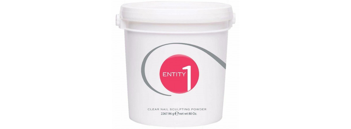 ENTITY Nail Acrylic Sculpting Powder *PINK* - Size 5 Lbs Bucket