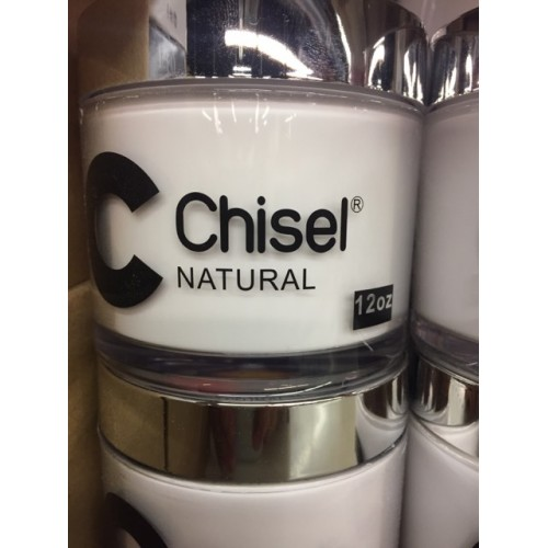 chisel 12oz jar powder NATURAL