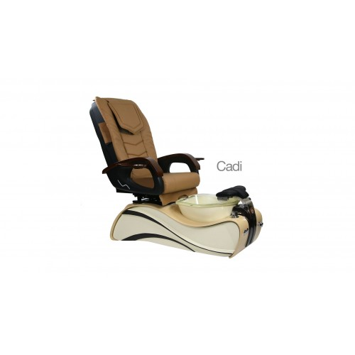 Cadi – Pedicure Spa Chair – Coffee Cream