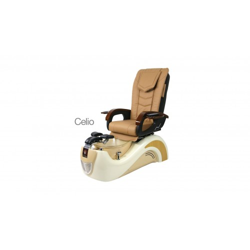 Celio – Pedicure Spa Chair – Cream Coffee Milk