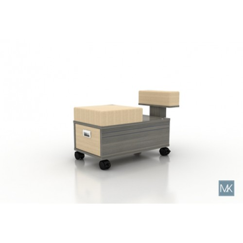 ALERA PEDICURE CART WITH FOOTREST