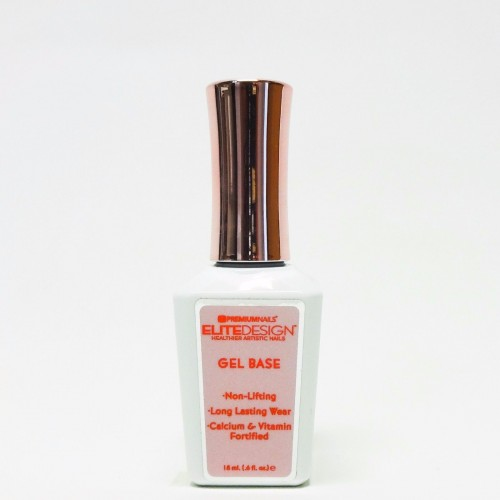 Premium Nails Elite Design GEL BASE for DIPPING POWDER .5oz/15mL