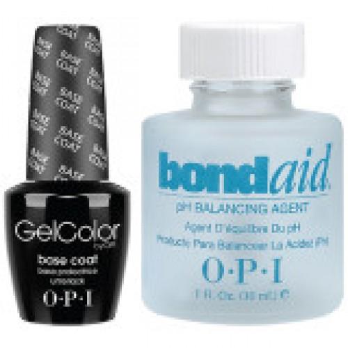 OPI GelColor Base Coat & BondAid Kit
