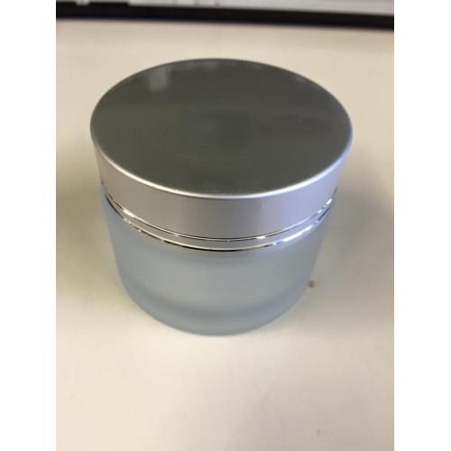 Frosted glass jar 40ml