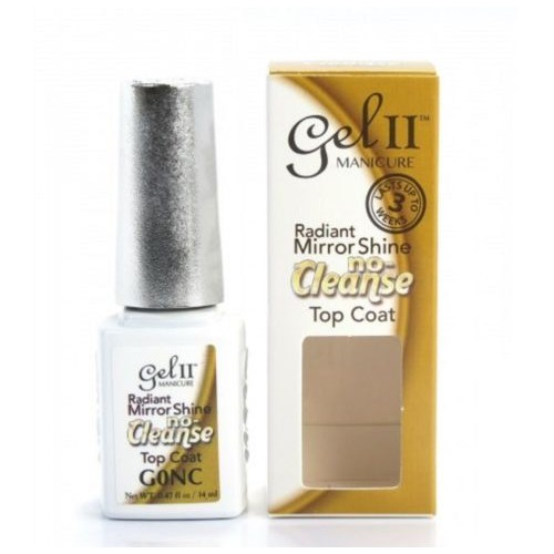 La Palm GEL II Gel Polish NO CLEANSE Top Coat Radiant Mirror Shine .5oz/15mL