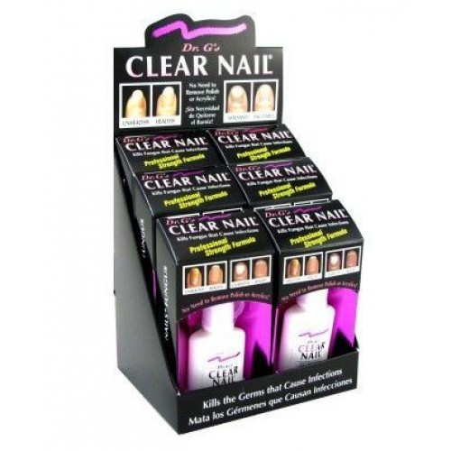 G S Clear Nail Antifungal Treatment 6pack