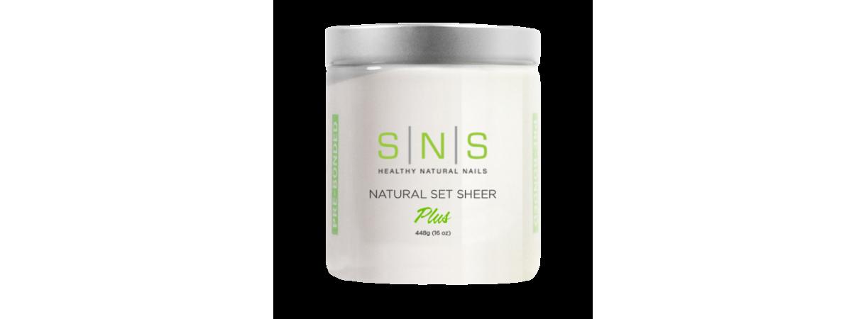 SNS Natural set sheer 16oz