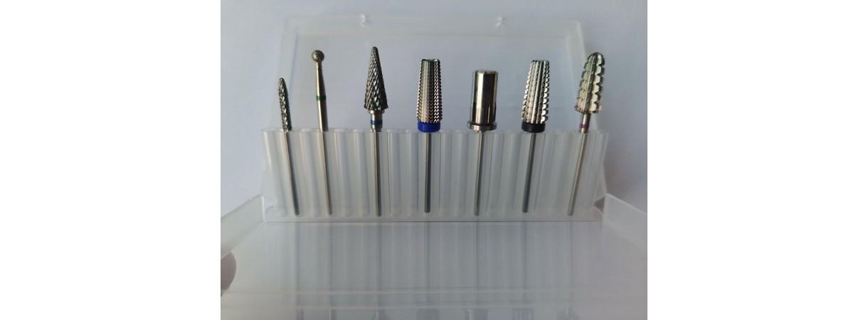 Nail Drill Bit Set 7pcs